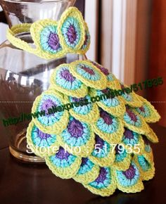 Oh my freaking gosh!!!! @N A N C Y B E R G E R look at this peacock diaper cover and headband!!! I so need this pattern!!! Oh my gosh!!!