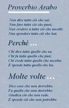 Dovremmo ricordarlo tutti i giorni ogni istante... Wise Quotes, Words Quotes, Motivational Quotes, Inspirational Quotes, Sayings, Italian Phrases, Italian Quotes, Magic Words, Mantra