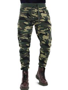 GIROGAMA Uomo Pantalone Tuta Mimetico Sportivo Militare 3818PT