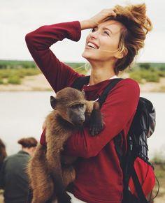 Регина Тодоренко, travel, monkey, beautiful girl, adventure, Regina Todorenko, Ukrainian girl, Орёл и решка