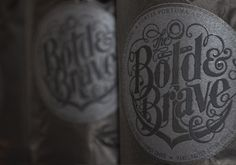 the bold & brave on Packaging Design Served