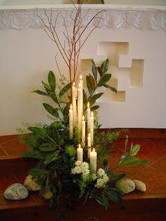 Arte Floreale per la Liturgia: 25-feb-2015