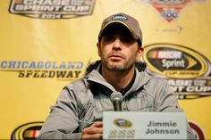 Jimmie Johnson Photos - Chicagoland Speedway - Day 2 - Zimbio