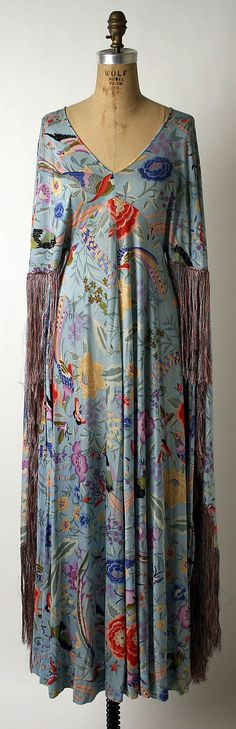 Dress Missoni (Italian, founded 1953)  Date:     early 1970s Culture:     Italian Medium:     synthetic Dimensions:     Length at CB: 54 in. (137.2 cm)