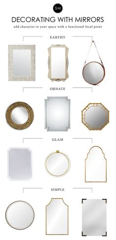 Add character and style to your spaces with a mirror- Studio McGee Blog