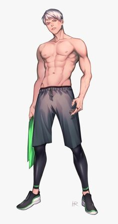 Kudos to the artist! Body Reference Drawing, Anime Poses Reference, Guy Drawing, Drawing Poses, Anime Guys Shirtless, Handsome Anime Guys, Hot Anime Boy, Cute Anime Guys, Body Drawing Tutorial