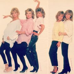 Goldie Hawn, Jessica Lange, Jane Fonda, Sally Field and Barbra Streisand ~ 1986