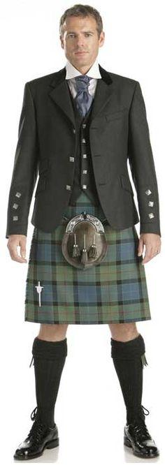 Classic Argyll Kilt Outfit with Gunn tartan
