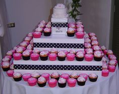 I also thought cupcakes rather than a cake would be a fun idea.  Could have more flavors and be more creative.