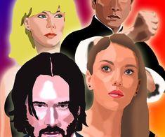 ArtStation - My Illustrations | Artworks Vera Farmiga, Cool Store, Artworks, Photoshop, Animation, Draw, Illustrations, Fictional Characters, You Lost Me