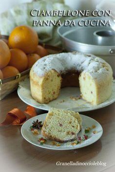 Profumo di cose semplici : Ciambellone con panna da cucina