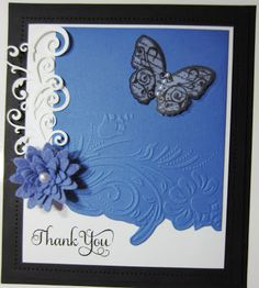 PartiCraft (Participate In Craft): Butterfly Thank You