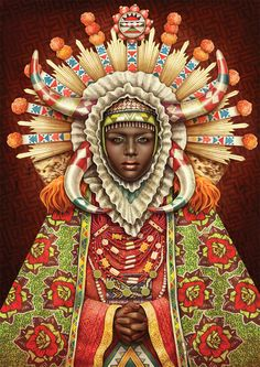"""African Madonna"" by Studio Muti"