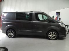 Transit With Assassin TRS Wolfrace Alloy Wheels (Before & After)