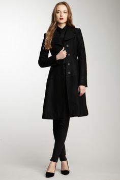 HauteLook - Dolce & Gabbana, Notch Colar Long Sleeve Coat