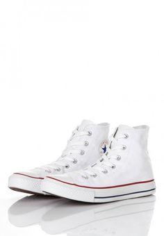6d0b0a094 Converse - Chuck Taylor All Star HI Optical White - Girl Shoes