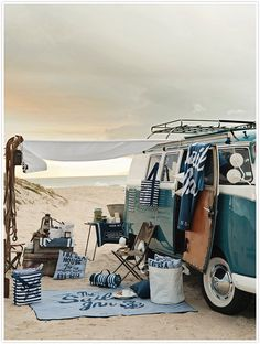 beach home on the go...Can You get more creative and spontaneous than this :) Love it, Want it!