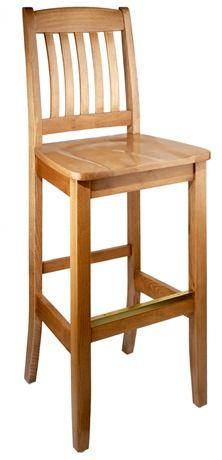 Bulldog Wooden Barstool
