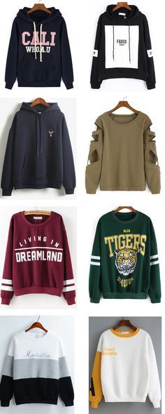 Great Spring outfits shein sweatshirts