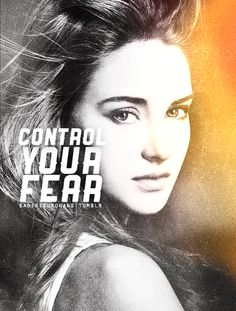 I'm actually excited to see Shailene Woodley play Tris. I know a lot of people are upset that she's player her cause they think she's not good enough or look how they pictured Tris. At least give her a chance and if you don't like her, fine, just don't go saying bad things about her all over the internet.