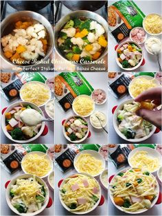 Cuisine Paradise | Singapore Food Blog | Recipes, Reviews And Travel: Festive Brunch Menu Using Perfect Italiano Cheese - Cheese Baked Christmas Casserole using Perfect Baked Cheese