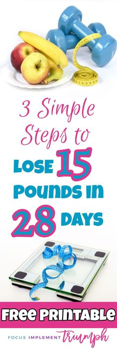 Are you struggling to lose weight? I have a solution! This post shares how implemented 3 simple steps to lose 15 pounds in 28 Days! | Lose Weight Fast | Workout Tips | Healthy Eating | Healthy Living | How to Lose Weight | Get Paid to Lose Weight #loseweightfast #workouttips #workoutmotivation #weightlossmotivation #weightlossbeforeandafter #healthyeating #healthyliving #fitnessgoals #fitnessmotivation #healthyeatingtips #workoutgoals