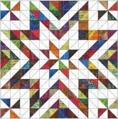 Coming Soon - Star quilt Scrap Quilt Patterns, Patchwork Quilting, Scrappy Quilts, Mini Quilts, Half Square Triangle Quilts Pattern, Square Quilt, Star Quilt Blocks, Strip Quilts, Quilting Projects