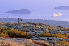 Bar Harbor Photos Group 2 - View more spectacular Bar Harbor and Acadia National Park photos as you plan your next Maine vacation on Mount Desert Island. Acadia National Park, National Parks, Acadia Maine, Bangor Maine, Places Around The World, Around The Worlds, Bar Harbor Maine, Hiking Places, East Coast Road Trip