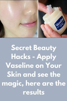 Today I will share about Vaseline hacks for amazing skin. And you will get the clean, clear, healthy and young look with these hacks. Anti Aging and Get Youthful skin with Vaseline Ingredients, you will need 2 teaspoon of Vaseline 1 tablespoon of honey 1 Beauty Care, Beauty Skin, Health And Beauty, Face Beauty, Healthy Beauty, Skin Care Regimen, Skin Care Tips, Creme Anti Rides, Vaseline Beauty Tips