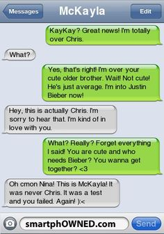 something my bff would do to me..