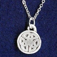 Round Celtic Knot Necklace 21-2214 - Buy from By The Sword, Inc.  7.98