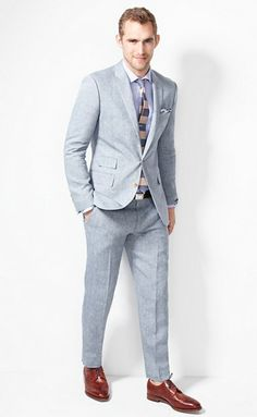 All of the these J Crew suits are gorgeous!  The Ludlow Shop