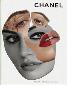 Like Picasso Cubism Face Art In 2019 Abstrakte Collage Portrait, Photo Wall Collage, Poster Collage, Collage Artwork, Photomontage, Picasso Cubism, Photographie Portrait Inspiration, Frida Art, Collage Design