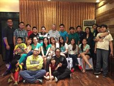 These are the alumni and the original cast of Goin' Bulilit who are now grown-up with the staff of Goin' Bulilit and Direk Edgar Mortiz smiling for the camera during the Christmas party and reunion of the original cast and alumni of Goin' Bulilit at Direk Edgar Mortiz's house in Quezon City last December 2014. Indeed, they're another of my favourite Kapamilyas, and they're amazing Star Magic talents. #SharleneSanPedro #MilesOcampo #GoinBulilit #GoinBulilitGraduates Child Actresses, Child Actors, Star Magic, Originals Cast, Quezon City, December 2014, Filipina, May 1, Growing Up