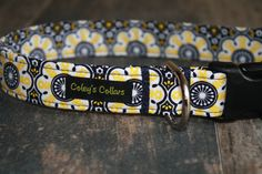 Dog Collar Large 1 Ready to Ship Sale The Kate by ColeysCollars