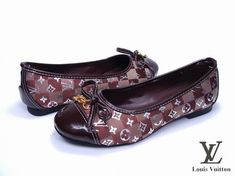 Womens Louis Vuitton Flats Shoes-19, Replica Shoes Louis Vuitton Flats, Louis Vuitton Online, Women's Loafer Flats, Loafers, Sandals, Brown, Ballerinas, Clothing Ideas, Fashion