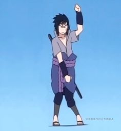 uchihafuck:   Sasuke Uchiha dancing on your blog