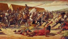 The Battle of Cajamarca occurred on November 16th, 1532. It was an ambush in which Francisco Pizarro and a small Spanish force captured Atahualpa, an Inca ruler. Spanish forces kill many of Atahualpa's commanders and counselors, and made the rest of his forces flee.