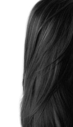 Long Black Hair, Hair Color For Black Hair, Dark Hair, Brown Hair, Girls With Black Hair, Elegant Hairstyles, Black Women Hairstyles, Straight Hairstyles, Color Del Pelo