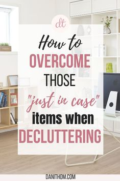 """Getting into the mindset to declutter is a process. You have to have the desire to start and it can be really daunting if you have a house full of stuff. Then, once you get started, there are those things that make you hesitate. You ask yourself """"do I need this?"""" and although you haven't even touched it, thought about it, or known it was there for months (possibly years),…"""