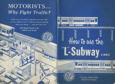 """Keeping Everyone in the Loop: 50 Years of Chicago """"L"""" Graphics - Print Magazine"""