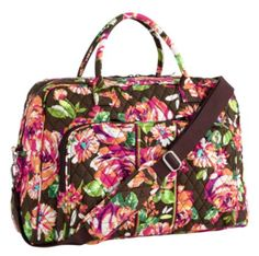 6582e5ed7f57 Paused for improvements. Vera Bradley Travel BagBrown ...