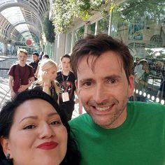 David at the Comic Con in San Diego