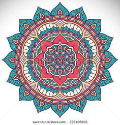 Mandala. Vintage decorative elements. Oriental pattern, vector illustration. Islam, Arabic, Indian, turkish, pakistan, chinese, ottoman motifs