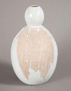 Important vase, 1930, by Primavera.