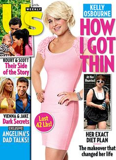 """In """"The Body and the Reproduction of Femininity,"""" Susan Bordo calls attention to females' """"focus"""" on """"self-modification,"""" their feelings of """"never being good enough,"""" and their """"preoccupation with appearance"""" (66). Because the headline doesn't say """"How I Got Healthy,"""" magazine covers like this, which make being """"thin"""" the goal to which all women should aspire, enforce the """"contemporary aesthetic ideal...whose obsessive pursuit has become the central torment of many women's lives"""" (Bordo…"""