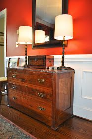 Finding Fabulous: Renewing an antique with Olive Oil & Vinegar!