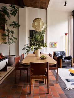 Architectural Digest, Dining Room Design, Dining Area, Cosy Dining Room, Sofas Vintage, Flack Studio, Deco Boheme Chic, Modernisme, Melbourne House