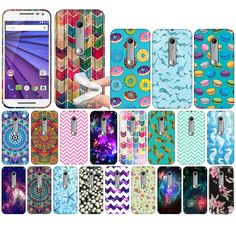 For Motorola Moto G 2015 3rd Gen XT1541 Various TPU SILICONE Soft Case Cover #UnbrandedGeneric
