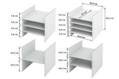 Shelf use for the subdivision of Kallax compartments -shelf shelves are retrofit and removable -Maximum flexibility in partitioning -1, 2, 3, 4 or more adjustable floors -Splitting in 2-5 of the same height possible -Shelves can be used asymmetrically  With the shelf insert ABLAGA you can divide